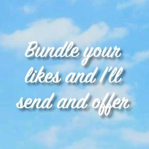 ‼️HEY BUNDLE YOUR LIKES‼️